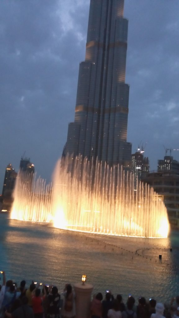 The Fountains of Dubai Mall